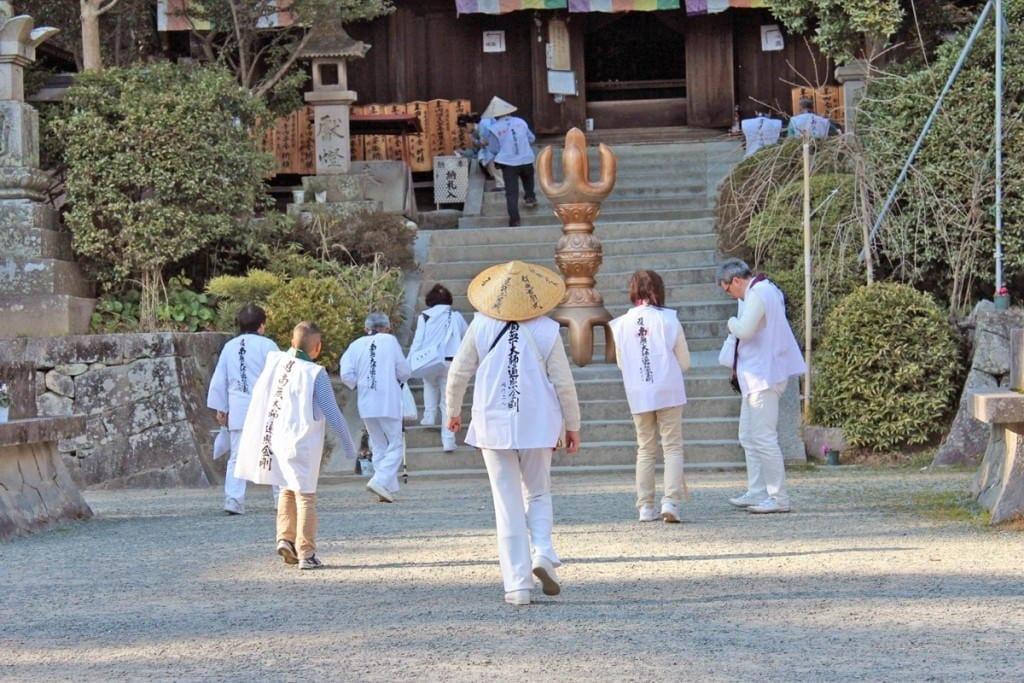 Shikoku pilgrimage (to the 88 temples)