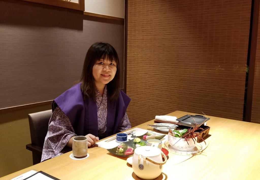 Wearing Yukata in Ryokan