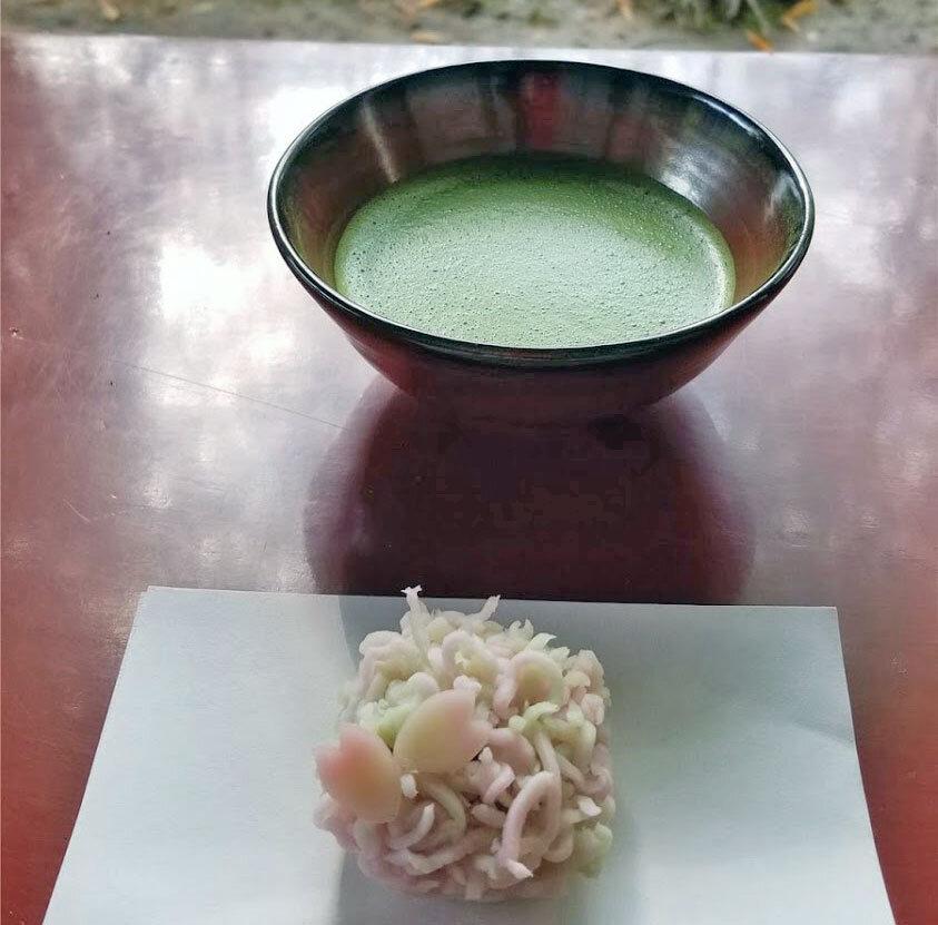 Wagashi traditional Japanese sweets