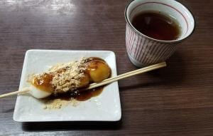 Dango Japanese traditional sweets