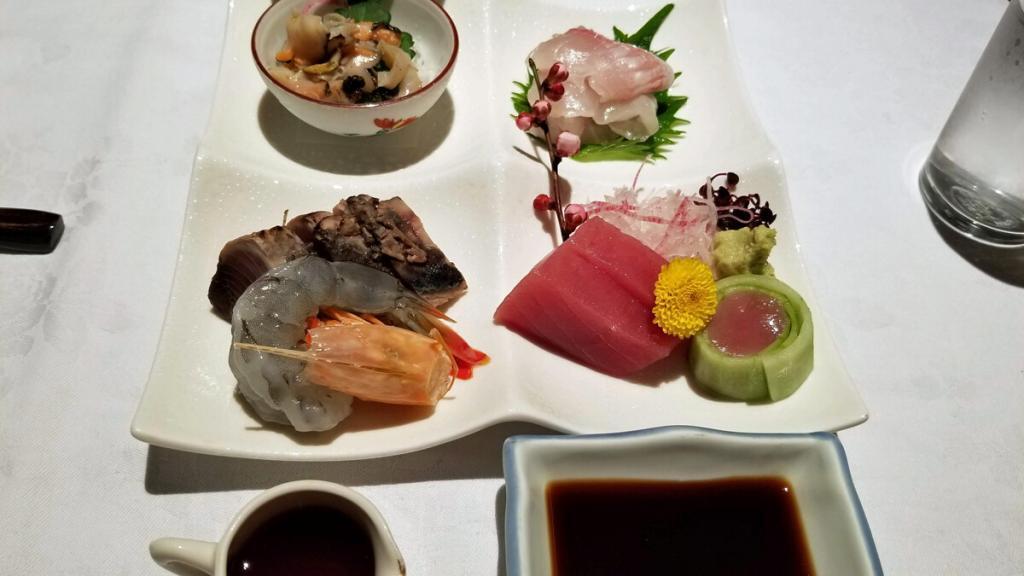 Japanese cuisine at ryokan