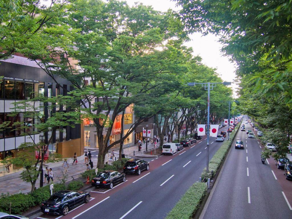 Omotesando Street in Harajuku