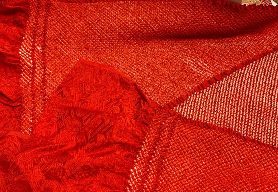 Shibori Kimono bow and sash