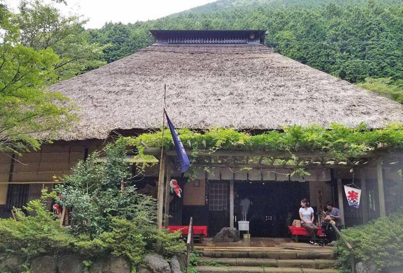 Amazake-chay in Mt. Hakone