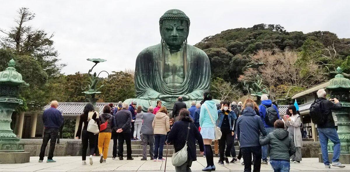 Great Buddha in Kamakura Kotokuin Temple