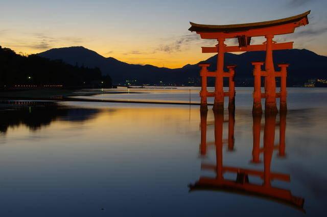 Itsukushima-jinja Shrine in Miyajima, Hiroshima