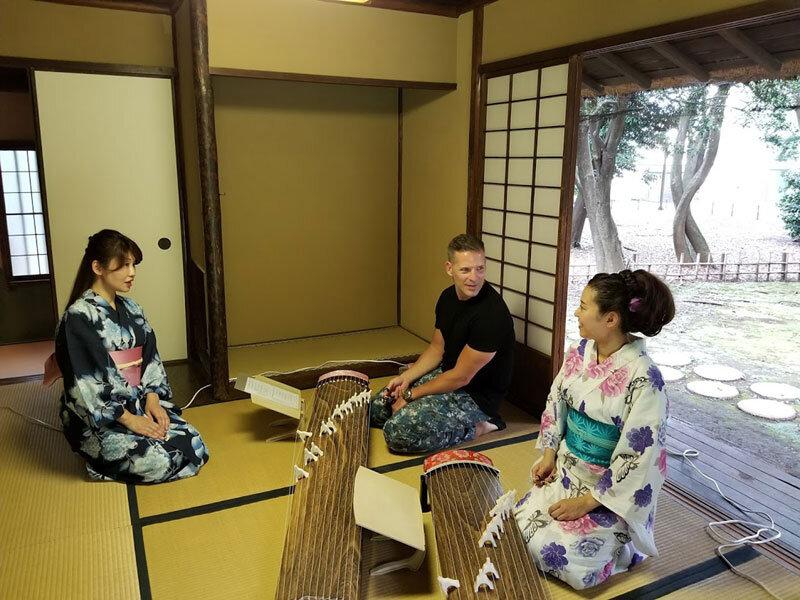 Koto and Shamisen Experience