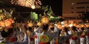 Bon dance Kumamoto Yamaga