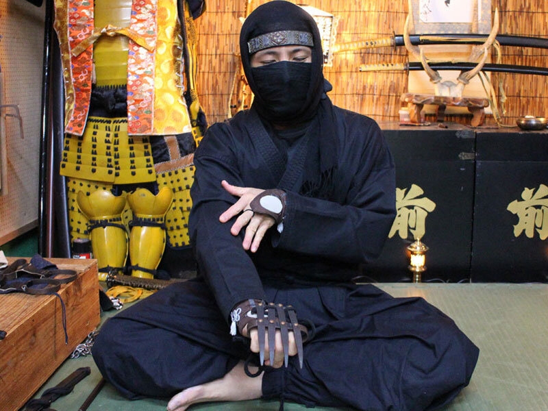 Ninja Samurai Experience