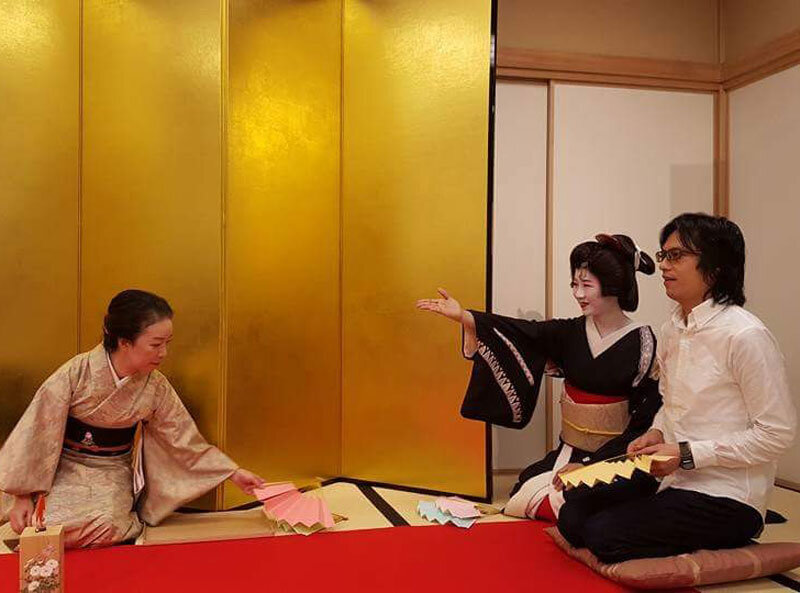 Geisha asobi experience
