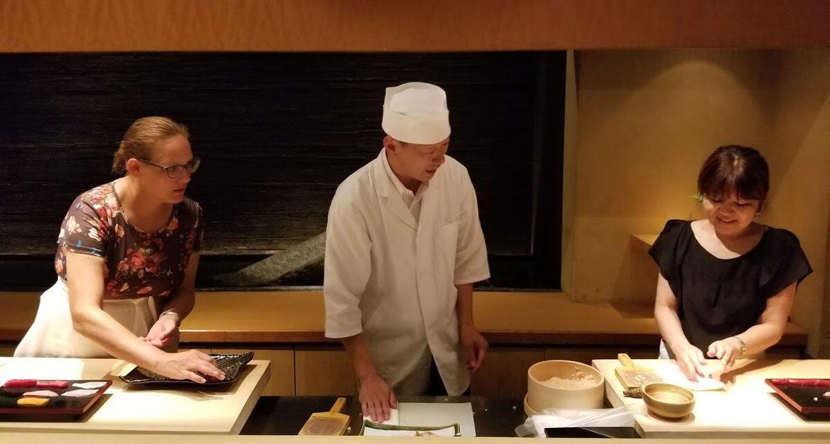 Sushi Making Experience