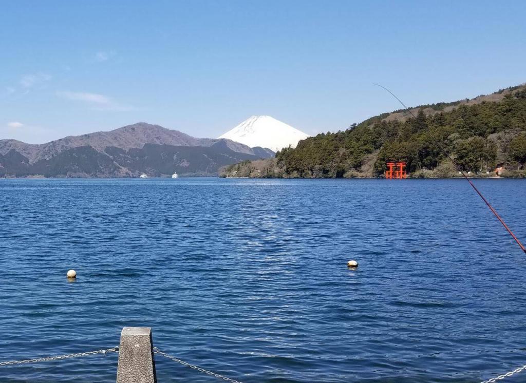 Mt. Fuji from Lake Ashi, Mt. Hakone