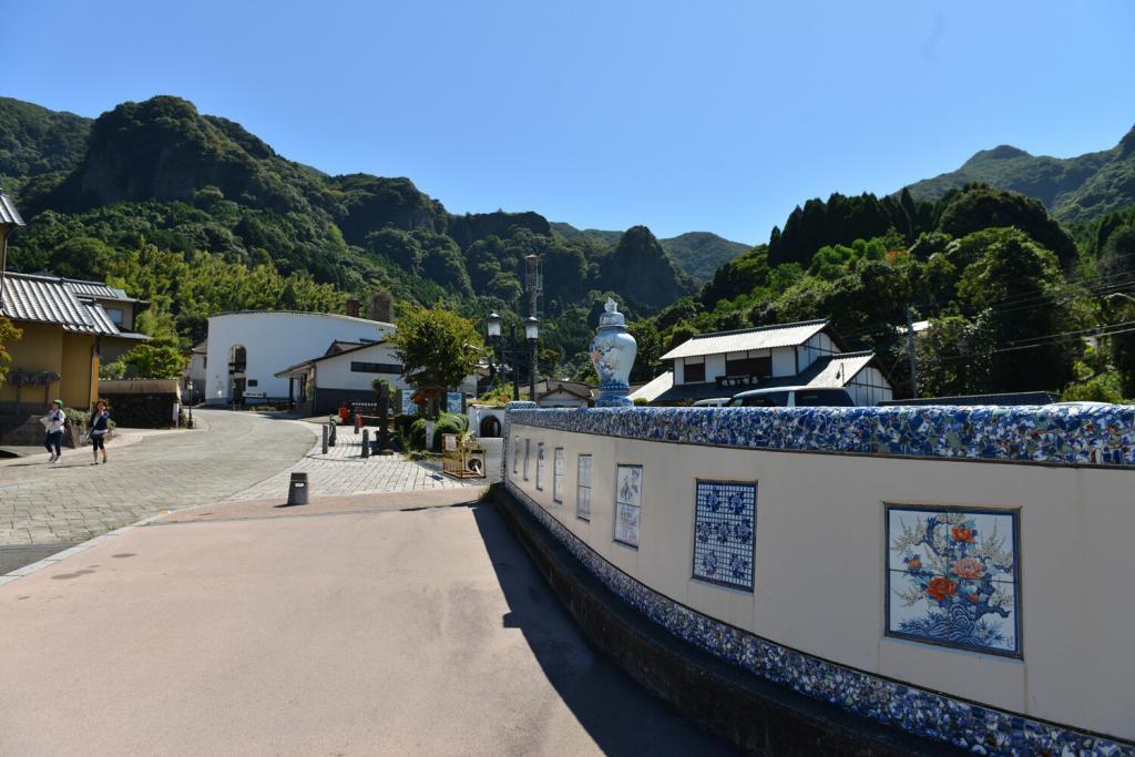 Okawachiyama a village of pottery in Saga prefecture, Kyushu