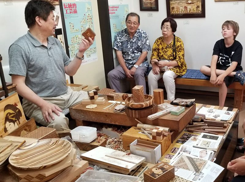 Traditional Japanese art experience
